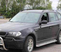Пороги площадка BMW X3 (2004-2006)