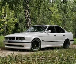 """Накладки на пороги BMW E34 """"Schnitzer"""", БМВ Е34"""