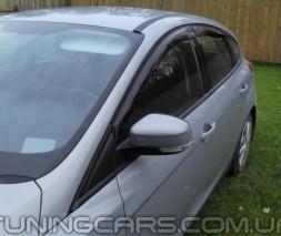 Дефлекторы окон BMW X5 E70 2007-2013, Ветровики БМВ Х5 Е70