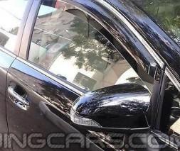 Дефлекторы окон BMW X5 F15 2013+, Ветровики БМВ Х5 Ф15
