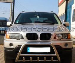 Передняя защита кенгурятник BMW X5 (00-06) BMX5.00.F1-03
