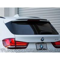 Лип спойлер BMW X5 F15 M-performance, БМВ Х5 Ф15