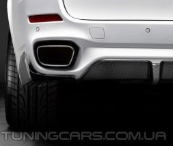 Накладка на задний бампер M Performance для BMW X5 F15, БМВ Х5 Ф15