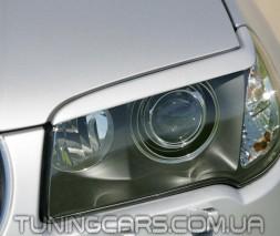 Накладки на фары (реснички) BMW X3 E83