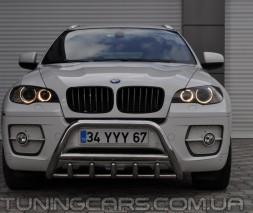 Передняя защита кенгурятник BMW X6 (06-13) BMX6.06.F1-03