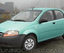 Дефлекторы окон Chevrolet Aveo Sd 2003-2006, Ветровики Шевроле Авео седан