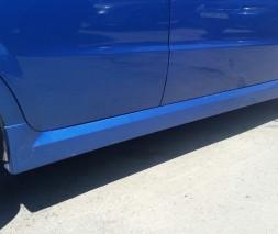 "Накладки на пороги Chevrolet Aveo ""GM"""