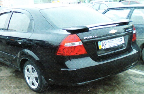 "Спойлер Chevrolet Aveo ""Batman"""