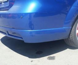 "Накладка на задний бампер Chevrolet Aveo ""GM"""