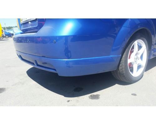 Накладка на задний бампер Chevrolet Aveo GM