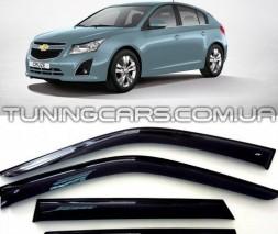 Дефлекторы окон Chevrolet Cruze Hb 5d 2011, Шевроле Крузе ХБ