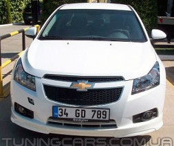 "Накладка на передний бампер Chevrolet Cruze ""Torneo"", Шевроле Круз"