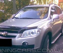 Дефлектор капота Chevrolet Captiva 2006+
