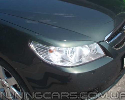 Накладки на фары Chevrolet Epica