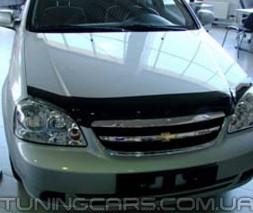Дефлектор капота Chevrolet Lacetti sedan, wagon 2004+