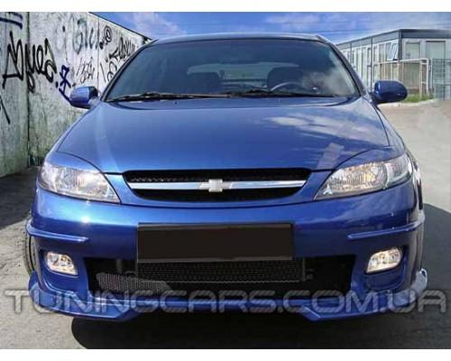 Бампер передний Chevrolet Lacetti Hatchback, Шевроле Лачетти хэтчбек
