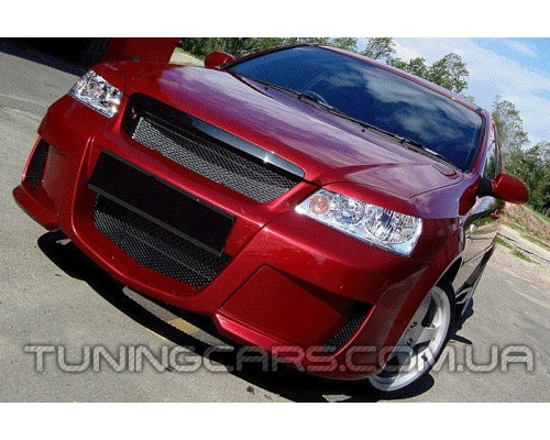 Бампер передний Chevrolet Lacetti sedan, Шевроле Лачетти седан