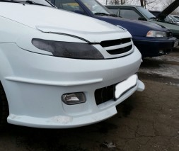 Бампер передний Chevrolet Lacetti, hatchback