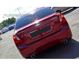 Бампер задний Chevrolet Lacetti sedan, Шевролет Лачетти седан