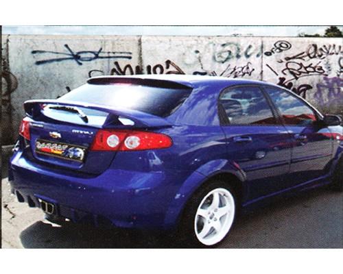 Бампер задний Chevrolet Lacetti, hatchback
