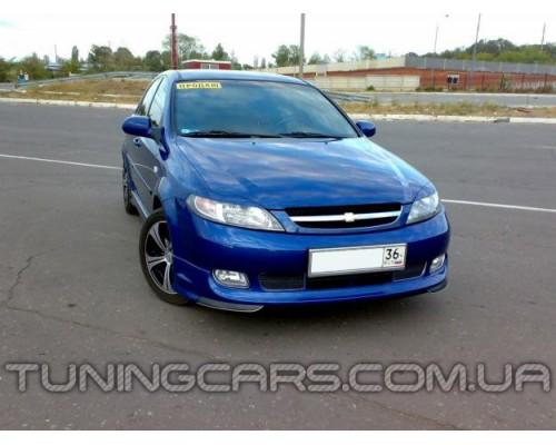 Накладка на передний бампер Chevrolet Lacetti Hb GM, Шевроле Лачетти