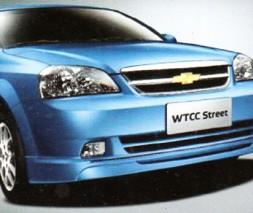 Накладка на передний бампер Chevrolet Lacetti GM