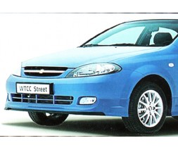 Накладка на передний бампер Chevrolet Lacetti, hatchback GM