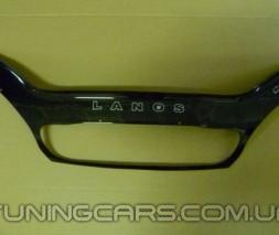 Дефлектор капота Chevrolet Lanos 2005+ с решеткой радиатора