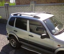 Рейлинги Chevrolet Niva (заводские с перемычками)
