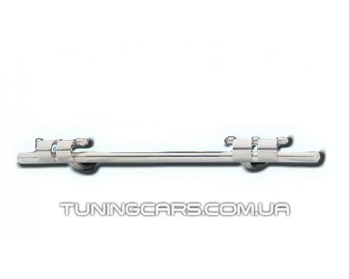 Защита заднего бампера для Chevrolet Niva (2010+) Bertone CVNV.10.B1-08 d60мм x 1.6