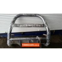 Защита переднего бампера для Chevrolet Niva