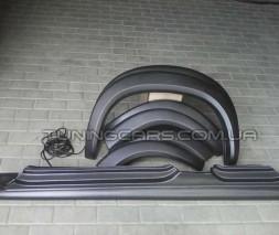 Комплект арки + пороги + уплотнительная резинка Chevrolet Niva