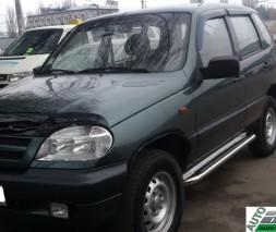 Пороги Chevrolet Niva [2006+] KB001 (Hector)