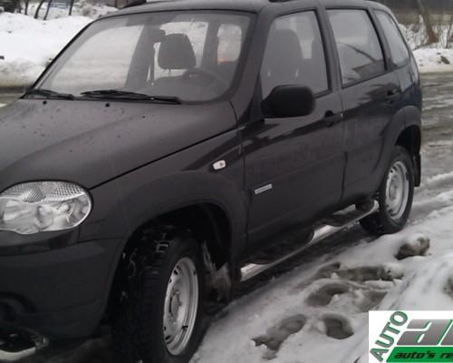 Пороги Chevrolet Niva (Bertone) TT002 (Dragos)