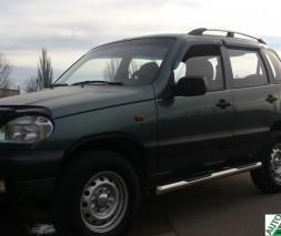Пороги Chevrolet Niva [2006+] BB003 (Asos)