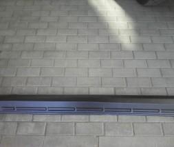 Пороги узкие пластиковые Chevrolet Niva оригинал