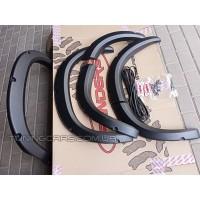Расширители колесных арок для Chevrolet Niva (Лаптеры нива Шевроле)