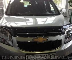 Дефлектор капота Chevrolet Orlando 2011+