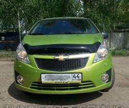Дефлектор капота Chevrolet Spark HB 2010+