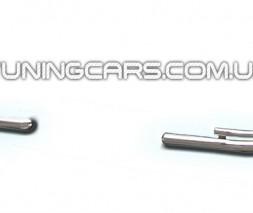 Защита заднего бампера для Cadillac Escalade GMT 900 CDES.07.B1-12 d60мм x 1.6