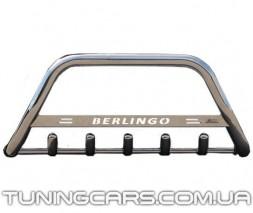 Передняя защита кенгурятник Citroen Berlingo (95 - 07) CTBL.95.F1-09