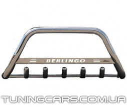 Передняя защита кенгурятник Citroen Berlingo (08+) CTBL.08.F1-09