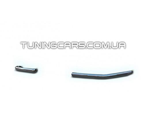 Защита заднего бампера (углы) для Citroen Jumper (2007+) CTJM.07.B1-09 d60мм x 1.6