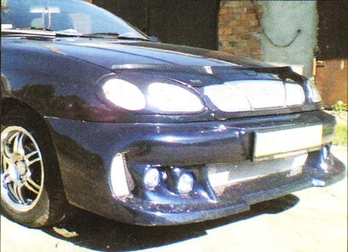 Бампер передний Daewoo Lanos Zona