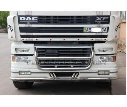Защита переднего бампера для DAF XF (XF105) (2005-2013) DAF105.05.FF3-01 d42мм x 1.6