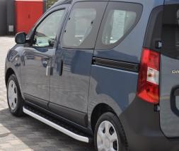 Пороги Dacia/Renault Dokker [2012+] NS001 (Newstar Grey)