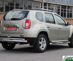 """Кенгурятник Dacia/Renault Duster [2010+] AK002 """"Merkur"""""""