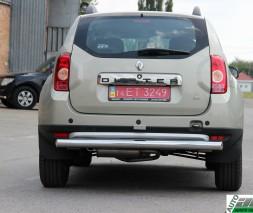 """Задняя защита Dacia/Renault Duster [2010+] AK002 """"Merkur"""""""