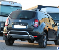 "Защита заднего бампера Dacia/Renault Duster [2010+] AK007 ""Moon"""