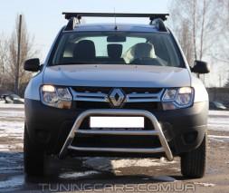 Передняя защита кенгурятник Dacia Duster (10+) DCDS.10.F1-16